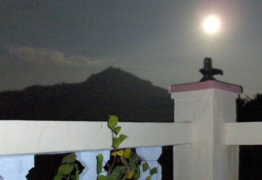 Arunachala Moonrise