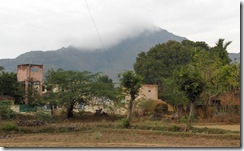 Arunachala from village