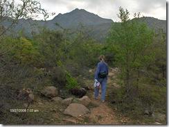 Walking inner path