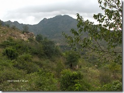 Arunachala from Papaji's cave