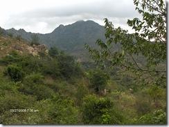 Arunachala from Papaji's cave