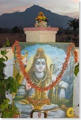Mahasivaratri altar after Pjua at dawn