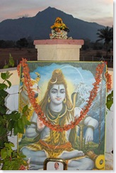 Mahasivaratri altar after Pjua at dawn