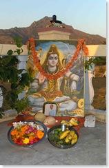 Mahasivaratri altar