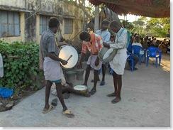 Village drummers