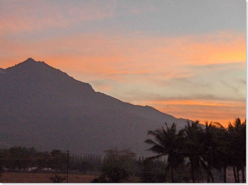 Arunachala Sunrise after Mahasivaratri night