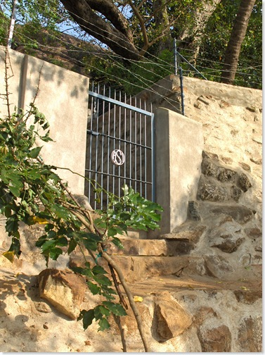 Skandashram gate