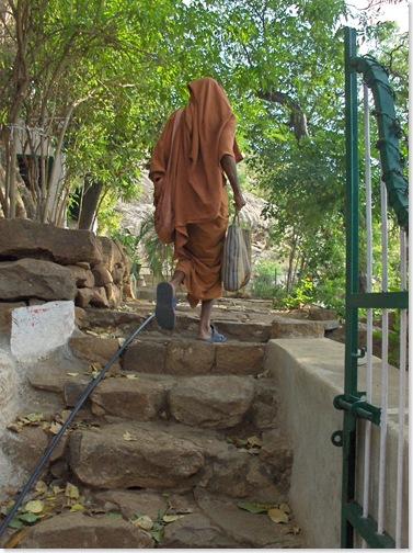 Entering Skandashram grounds