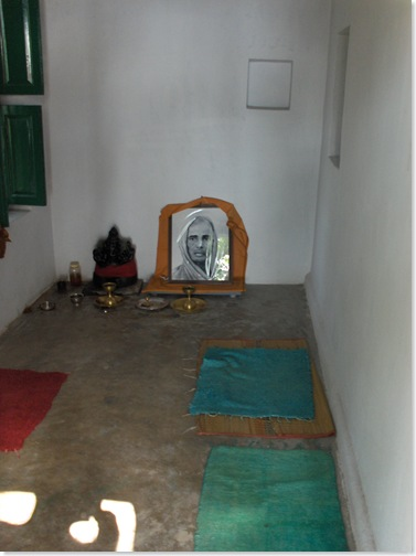 Altar in Mother's room