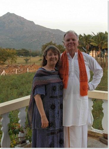 Richard and Carol on Richard 64th Birthday
