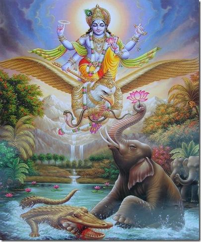 Vishnu_Gajendra_Moksham
