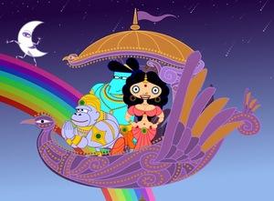 Sita, Rama, and Hanuman