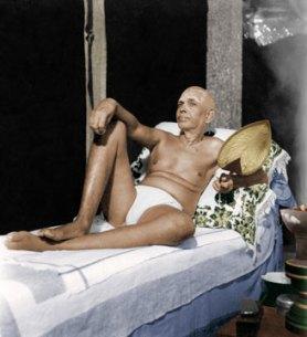 Bhagavan Ramana Reclining