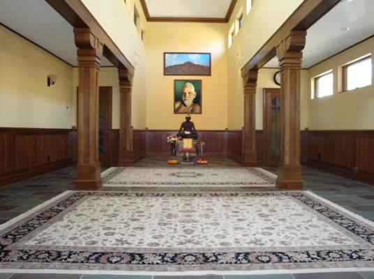 Bhagavan Shrine at the NY Arunachala Ashram