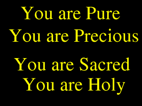 you are pure