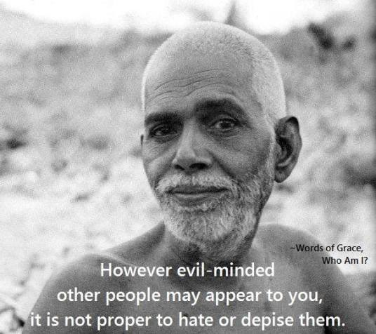 Sri Ramana on Evil
