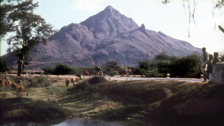 Old photo of Arunachala