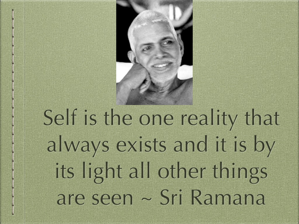 self-is-the-one-reality