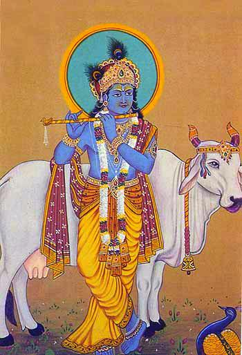 krishna-leaning-on-cow