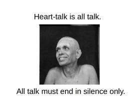 Heart Talk is All Talk