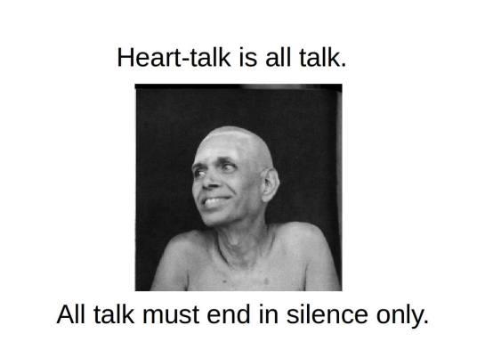 Heart Talk is All Talk