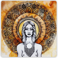 A Goddess Mandala: Kali, Aghori & Unconditional Love #1/6 | Luthar com