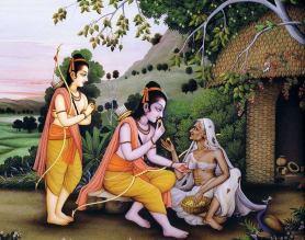 Shabari and Rama
